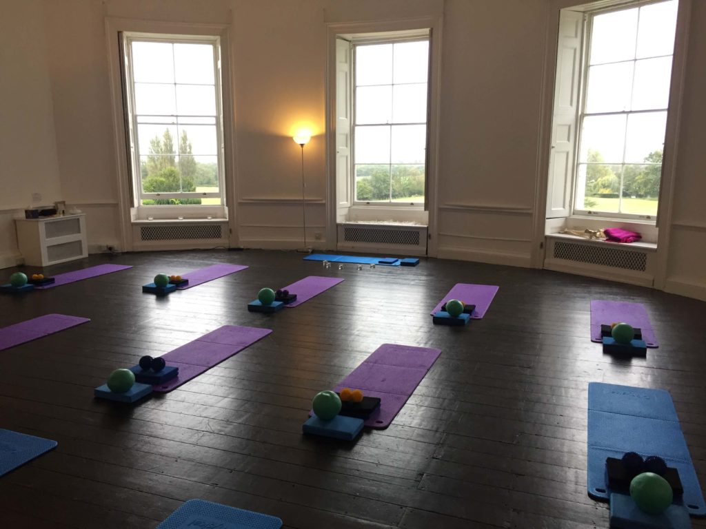 image of the oxon hoath yoga studio